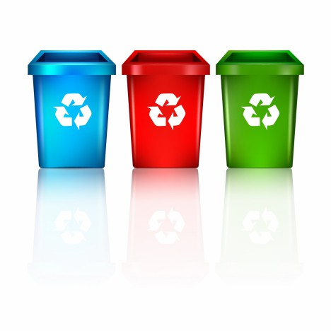 Object eco recycling trash vector art