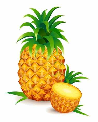 One and a Half Pineapple