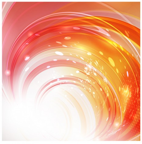 orange motion abstract background