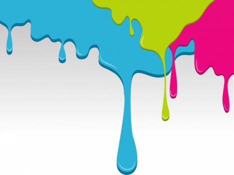 painting background colorful splashing decoration