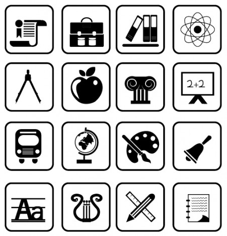 School and Education icons | prime series