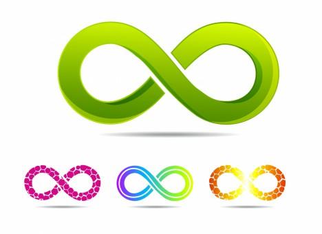 sleek style infinity symbols