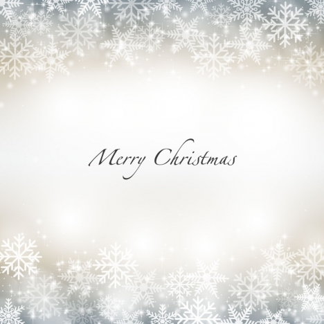 snow flake merry christmas background - Merry Christmas Background