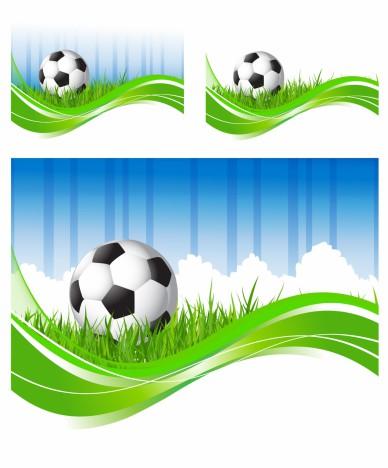 Soccer flow backgrounds