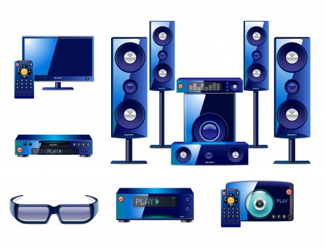 sound system collection
