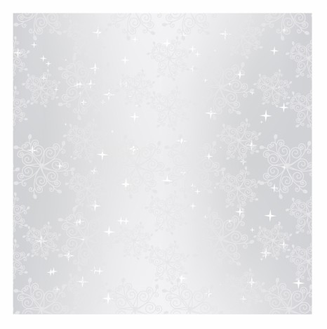 Sparkling sliver Christmas snowflake seamless pattern wallpaper