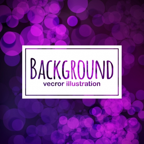 sparkling violet bokeh background blurred circles ornamental