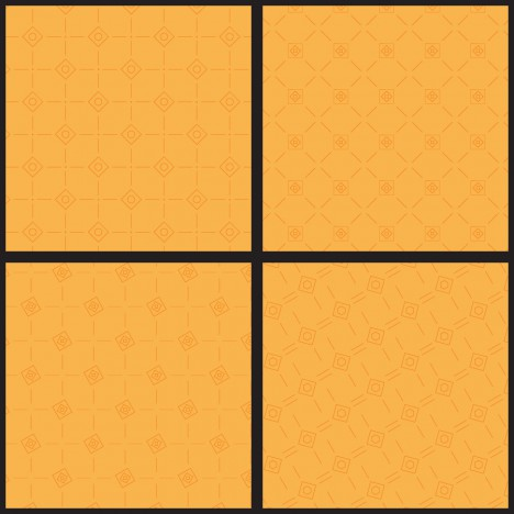 square ornament pattern