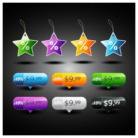 star sale tags