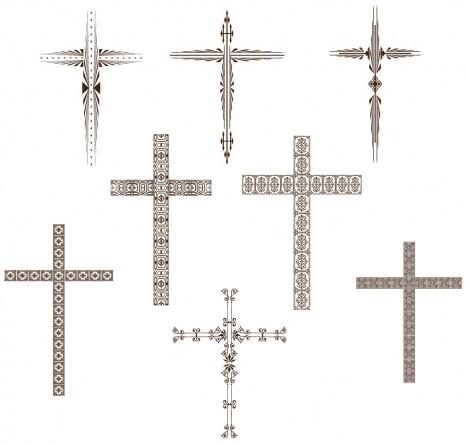 Stylized Cross Set