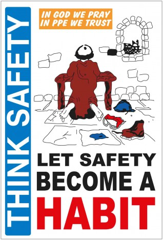 Think safety - Poster