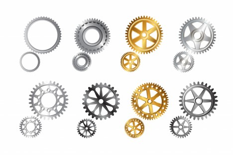 Various gears.