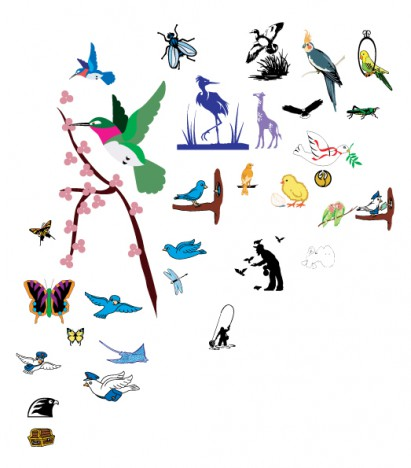 Vector Birds pack