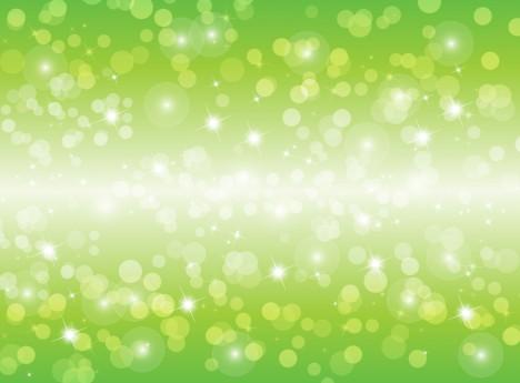 Vector Blur Green Background