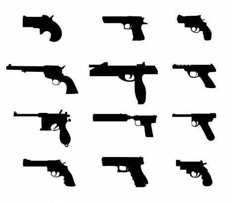 vector pistols