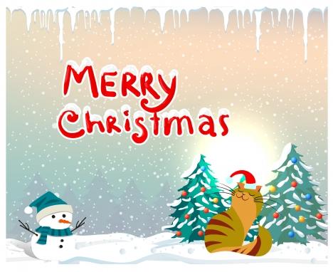 christmas card design photo