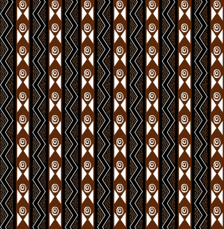 vintage tribal pattern design abstract repeating style