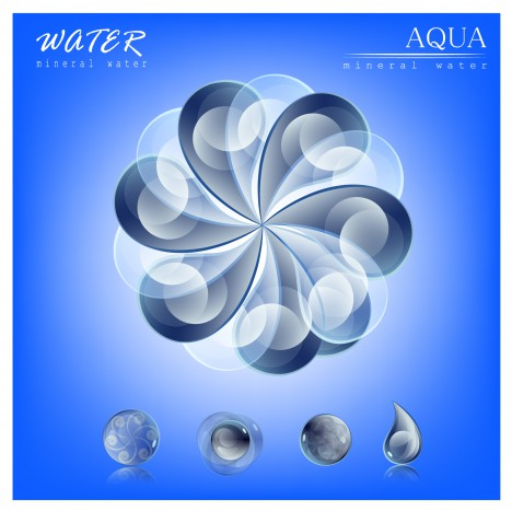 water abstract concept