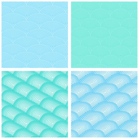 wave simple seamless pattern