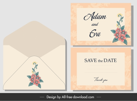 Wedding Envelope Template from buysellgraphic.com