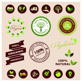 100 nature organic label