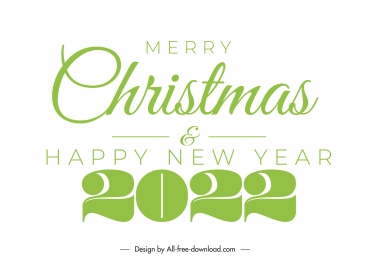 2022 new year cover bright green texts numbers