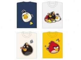 4 angry bird Vector T-shirt Designs