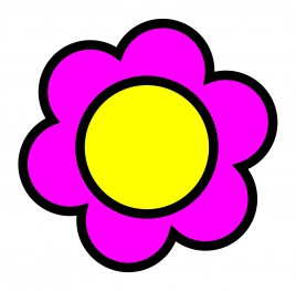 A flower of pon de ring donut
