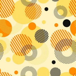 abstract background colored circles design striped dots design