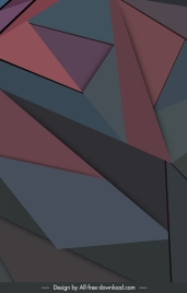 abstract background modern design geometric polygon decor