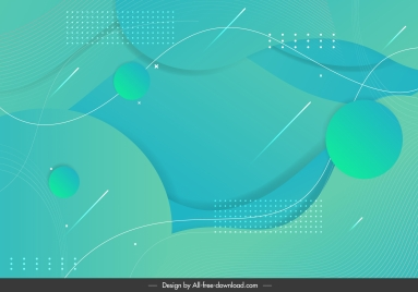 abstract background template bright modern green dynamic shapes