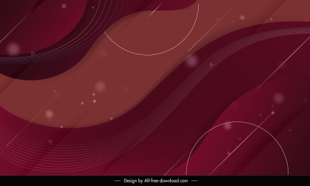 abstract background template colored flat swirled sketch