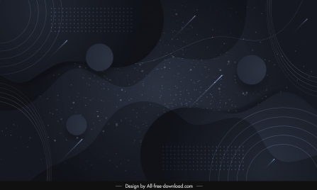 abstract background template dark black geometric shapes