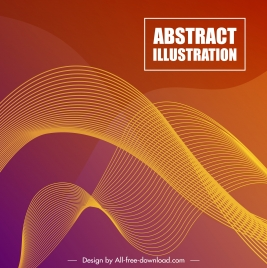 abstract background template modern 3d motion lines decor