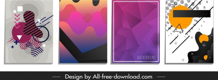 abstract background templates geometric shapes decor