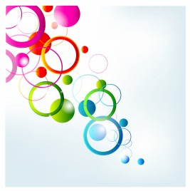 Abstract bright background.