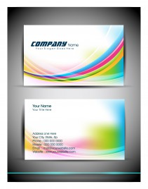 Windows Style Business Card Vectors Stock For Free Download - Windows business card template