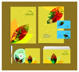 abstract corporate identity template