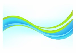 Abstract modern background blue and green