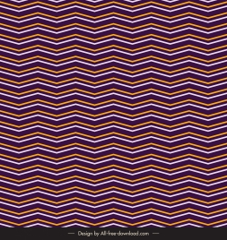abstract pattern zigzag lines sketch illusion design
