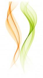 abstract smoke wave design