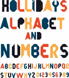 alphabet background colorful eventful decor capital lettering icons
