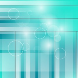 aqua circle and rectangle abstract background