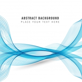aqua color wave abstract background