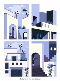 architecture exterior templates elegant classic decor