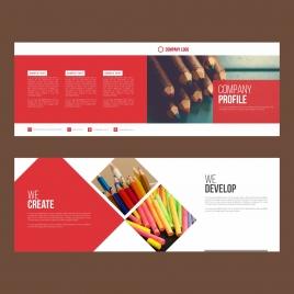 artistic brochure