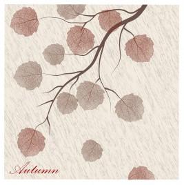autumn leaf art background