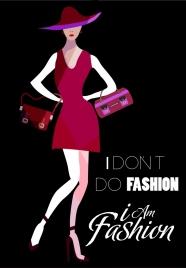 bags advertisement fashionable model icon decor