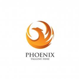 best phoenix logo concept luxury phoenix consulting element logo icon concept