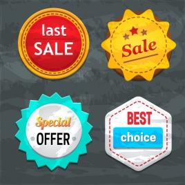 best sale badge set